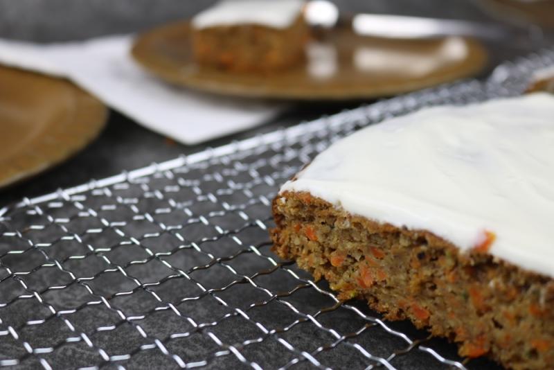 Gesunde Carrot-Cake Schnitten (5 von 6)