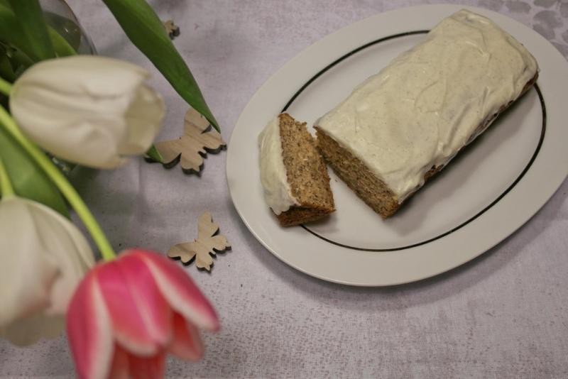 Bananenkuchen mit Vanille Frosting