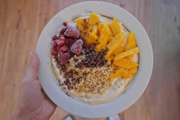 fruchtiges Frühstücksmüsli