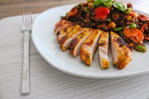 Rote Reispfanne mit Hähnchen (3)_lzn