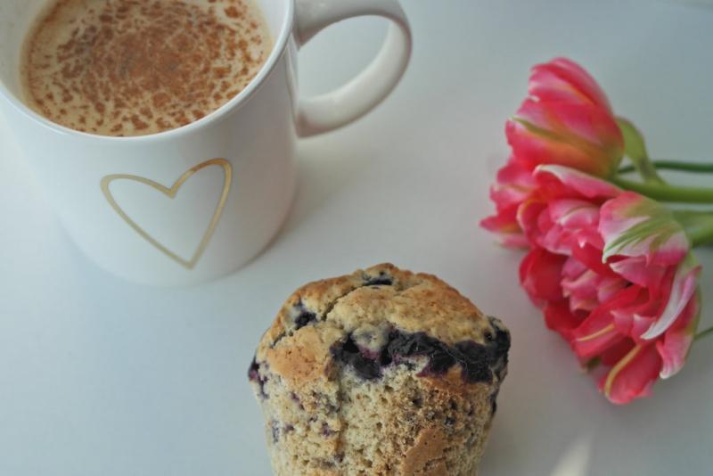 Gesunde Blaubeer-Muffins