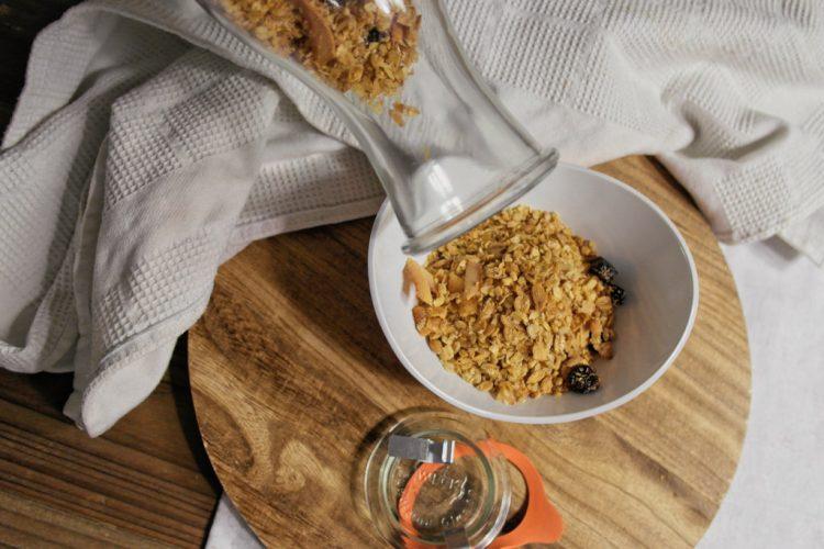 Selfmade Kokos-Granola