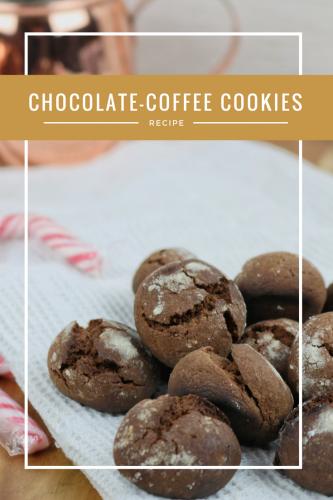 Chocolate Coffee Cookies.
