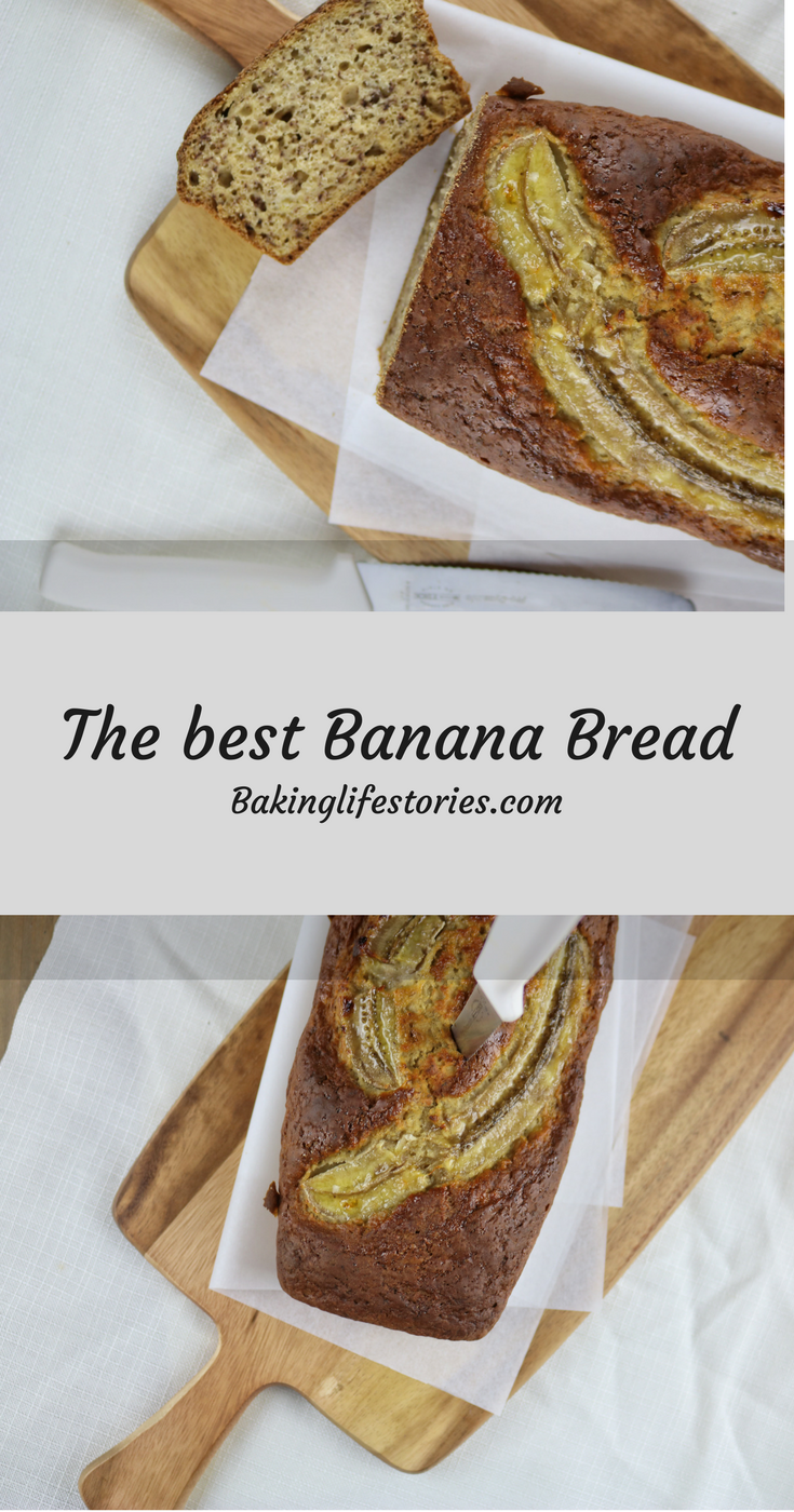 Banana Bread - the perfect banana bread. Easy & healthy