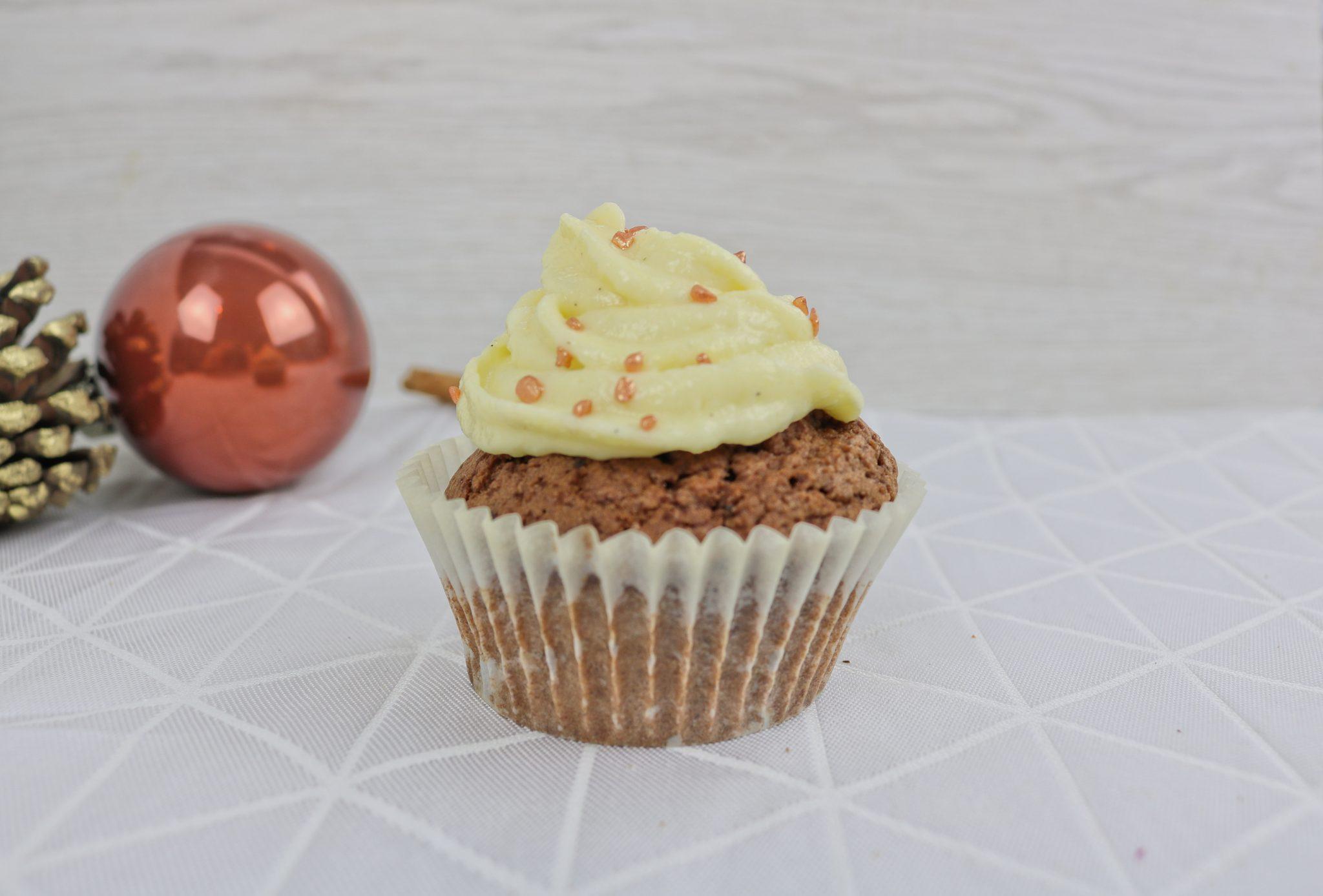 Lebkuchen-Cupcake