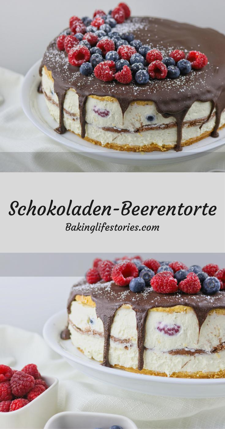 Schokoladen-Beerentorte
