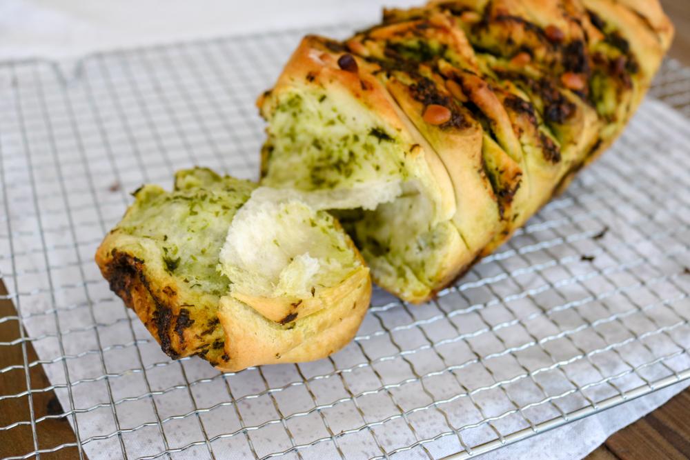 Bärlauch-Zupfbrot – #Veggiedienstag