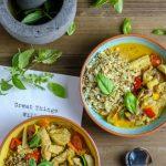 Zweierlei Thai-Curry