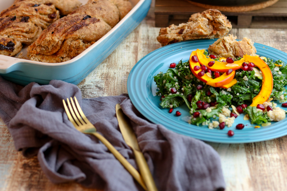 Quinoa_Grünkohl Salat