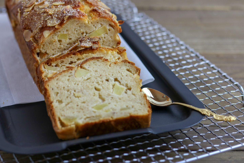 Gesunder_Apfelkuchen mit Reismehl
