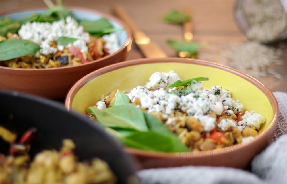 Bakinglifestories-gesundbacken-gesundkochen-gesundleben-Rezept-für-One-Pot-Reispfanne-Aubergine-Feta-vegetarischesOnePot-OnePot-Rezepte (2 von 8)