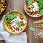 Bakinglifestories-gesundbacken-gesundkochen-gesundleben-Rezept-für-One-Pot-Reispfanne-Aubergine-Feta-vegetarischesOnePot-OnePot-Rezepte-Header (1 von 1)