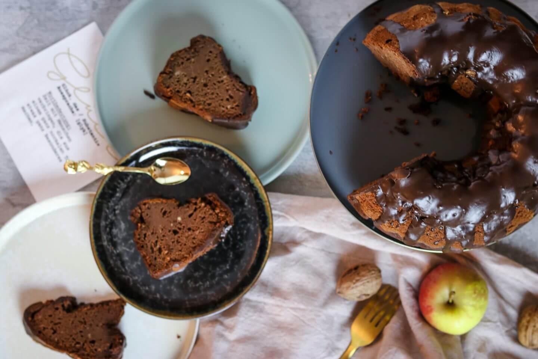 Gesunder Schoko-Kürbiskuchen - zuckerfrei und ohne Milchprodukte