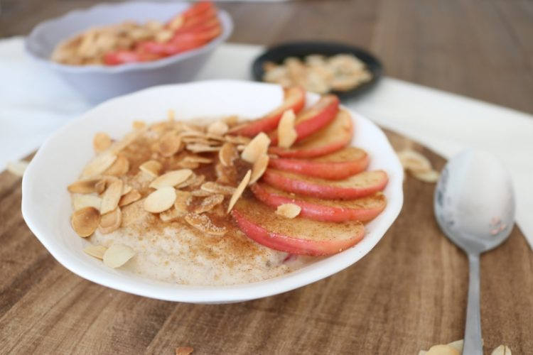 Bratapfel Porridge // Roasted Apple Porridge