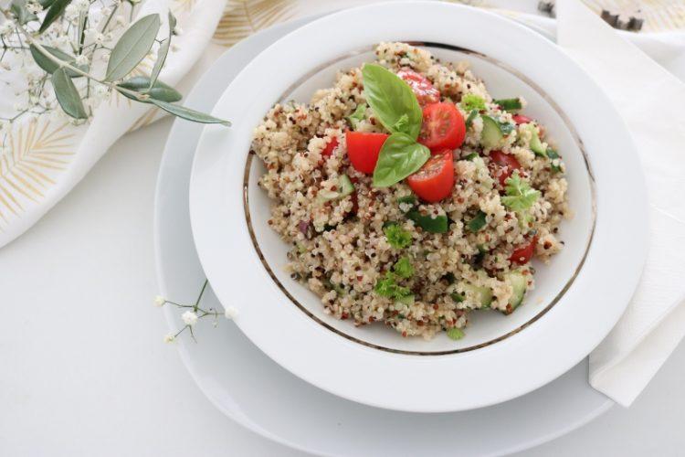 Rezept für schnellen Quinoa Salat