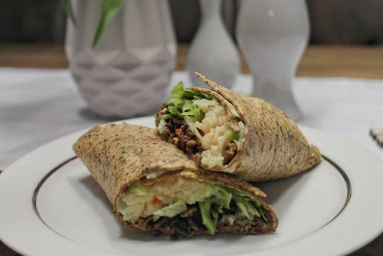 Bürolunch #1: Burritos mit Hackfleischfüllung