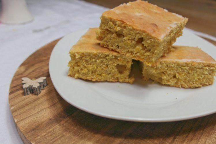 Rezept für Pumpkin-Blondies/Kürbis-Blondies